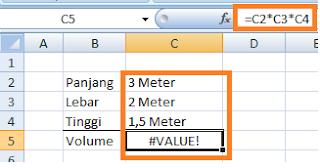 Cara Menyertakan Satuan Di Data Excel