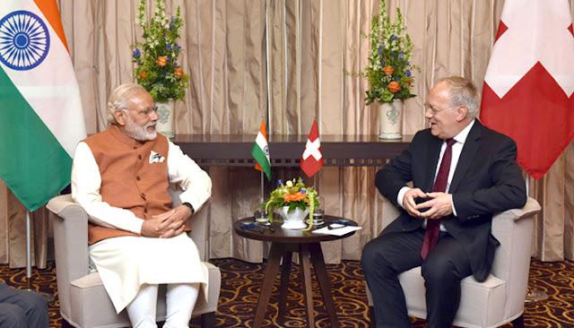 स्विट्जरलैंड ने NSG के लिए भारत का किया समर्थन