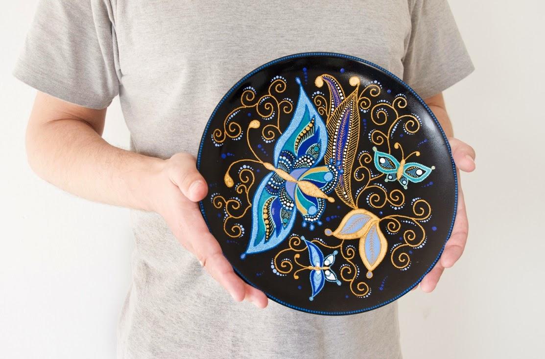 plate-decorative-hanging-wall-decor-home-decor-butterflies