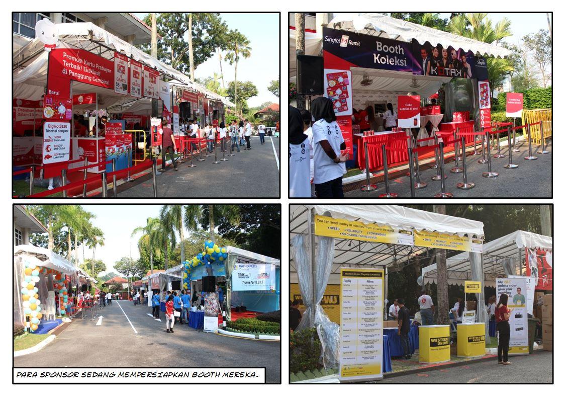 Booth Sponsor Panggung Gembira