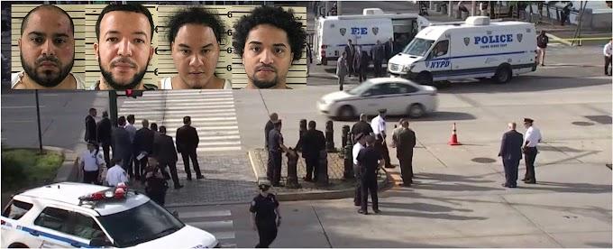 Presunto narco criollo sale ileso de lluvia de balas disparada por federales y policías cuando lo perseguían en autopista