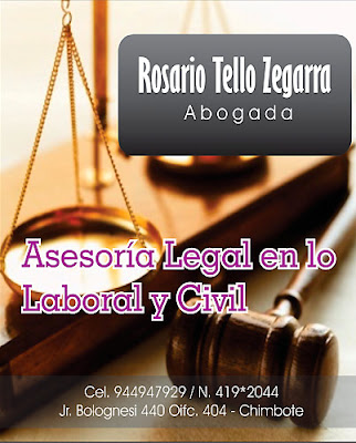 Rosario Tello Zegarra – Abogada