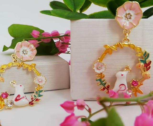 Dijual perhiasan imitasi impor indah berkualitas KWANG EARRING, Toko Online Jakarta