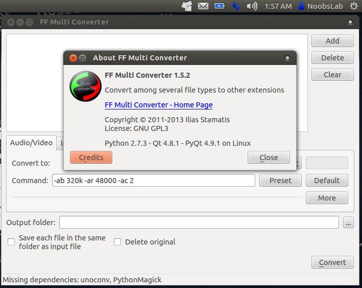 Combine pdf files ubuntu server