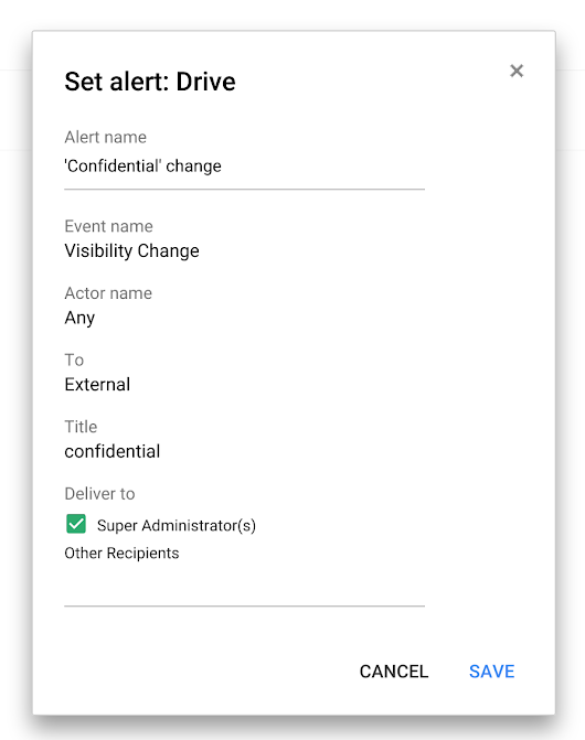 Keep all of your work more secure with Google Drive