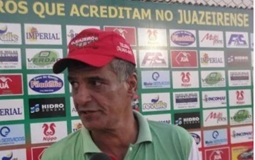Treinador Quintino Barbosa retorna ao Juazeirense