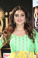 Sridevi Telugu Actressi in green Yellow Anarkali Dress at IIFA Utsavam Awards 024.JPG