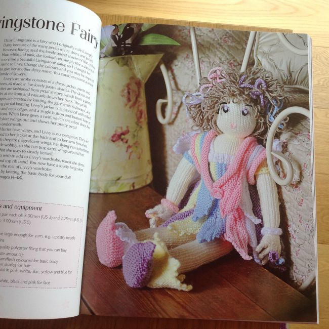picture of knitted fairy doll