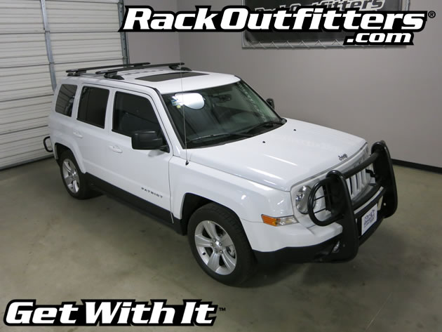 Jeep Patriot Rhino-Rack SX Vortex Aero BLACK Complete Base ...
