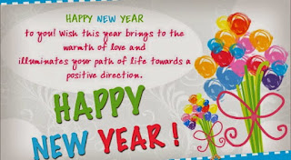 New Year Greetings Card For Family