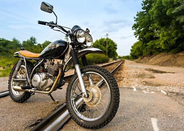 Yamaha SR250 Scrambler by Trident Cycles, Virginia