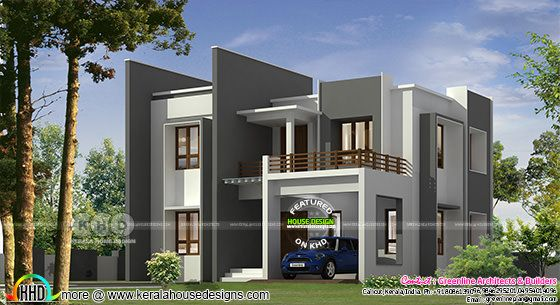 1710 square feet 3 bedroom contemporary house