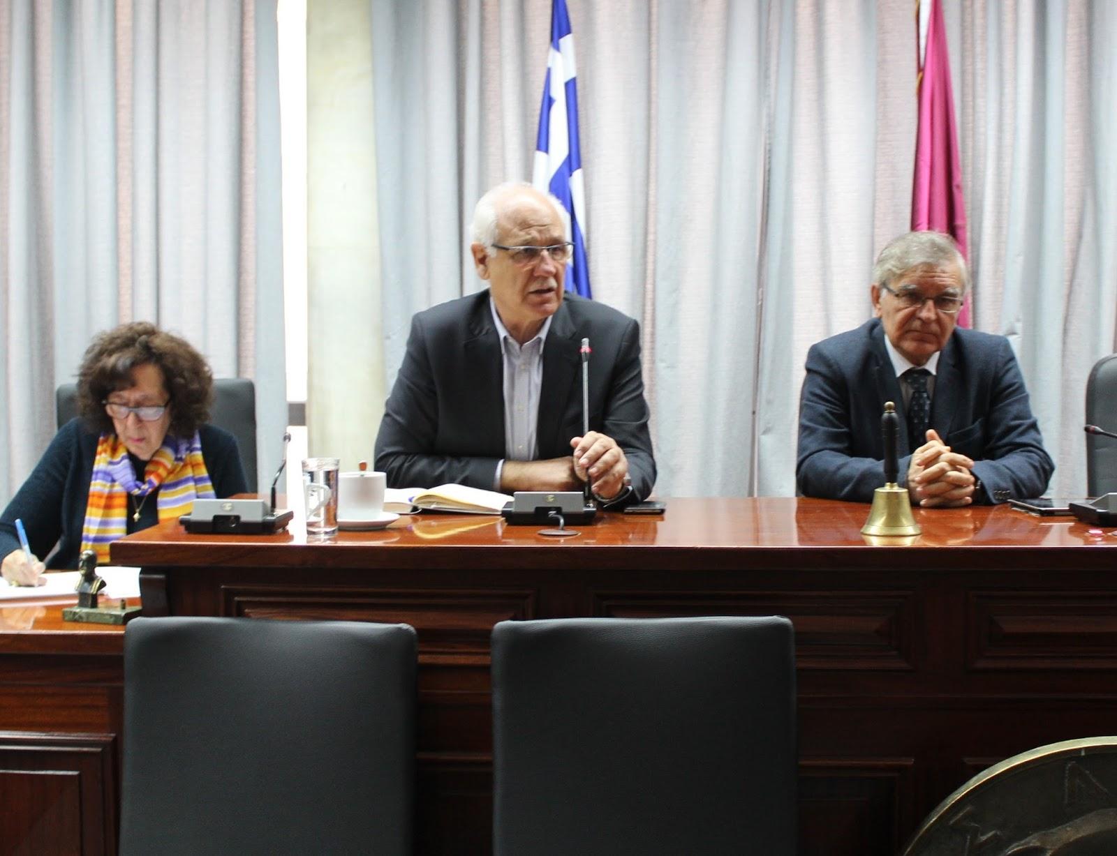Ευρεία σύσκεψη στο Δημαρχείο Λάρισας για την κατάσταση στα «Νταμάρια» (ΦΩΤΟ)