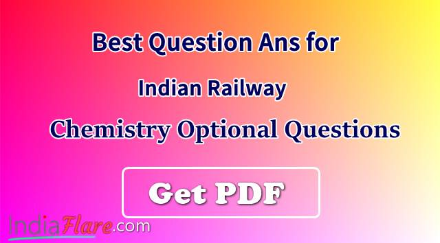 Chemistry question for Railyway और SSC CGL 2018