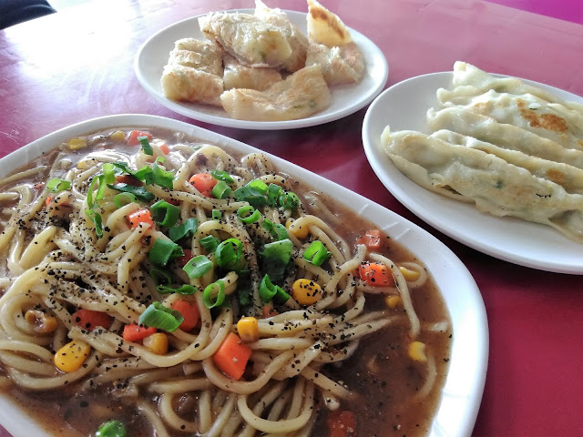 noodles dumplings food green island taiwan