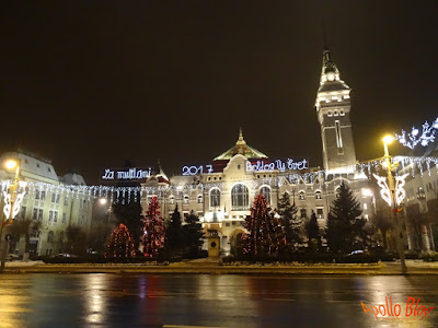 Lumini de Sarbatori Targu Mures