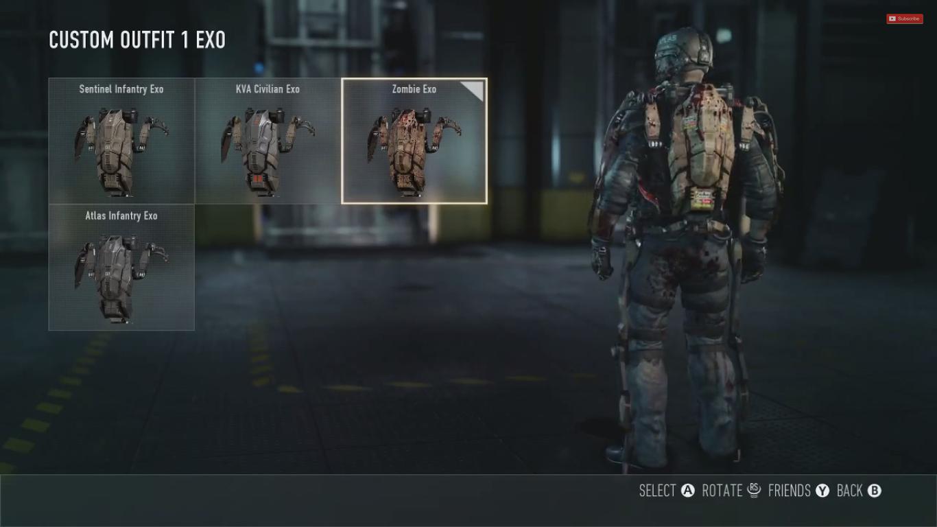 Psm Gaming Cod Advanced Warfare Zombie Skin