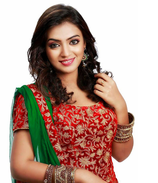 Beautiful Nazriya Nazim HD Wallpaper