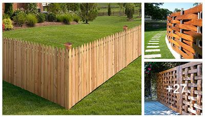 Ideas para construir cercas de madera