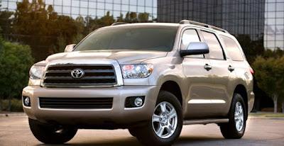 2020 Sequoia Toyota, la refonte et les rumeurs intérieure