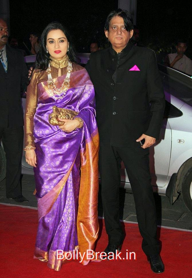 Padmini Kolhapure and Tutu Sharma, Celebs At Kush Sinha's reception