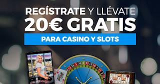 Paston 20 euros gratis casino nuevos registros hasta 25 marzo 2019
