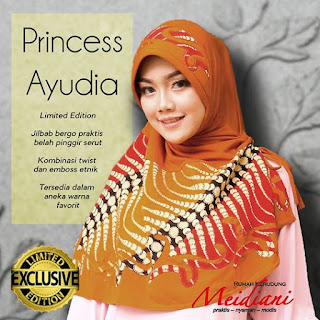 Jilbab Medium PRINCESS AYUDIA