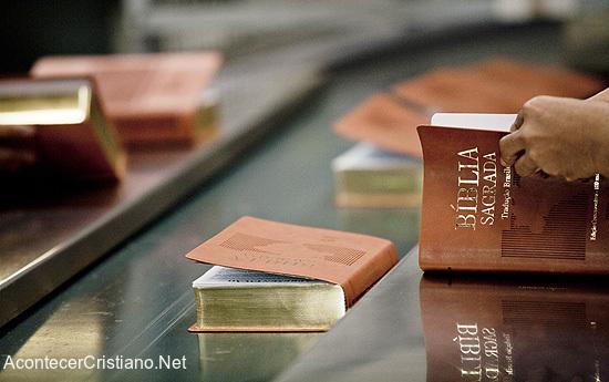 Producción de Biblias