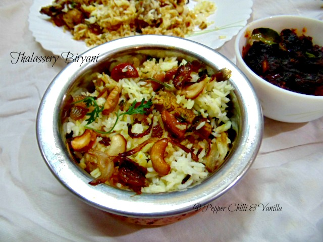 Thalassery biryani thalassery chicken biryani recipe for Chicken biryani at home