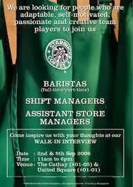 Starbucks Recruitment Process