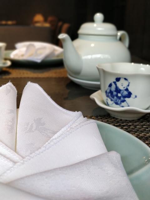 Oolong tea at Shikumen Ealing #restaurantreview