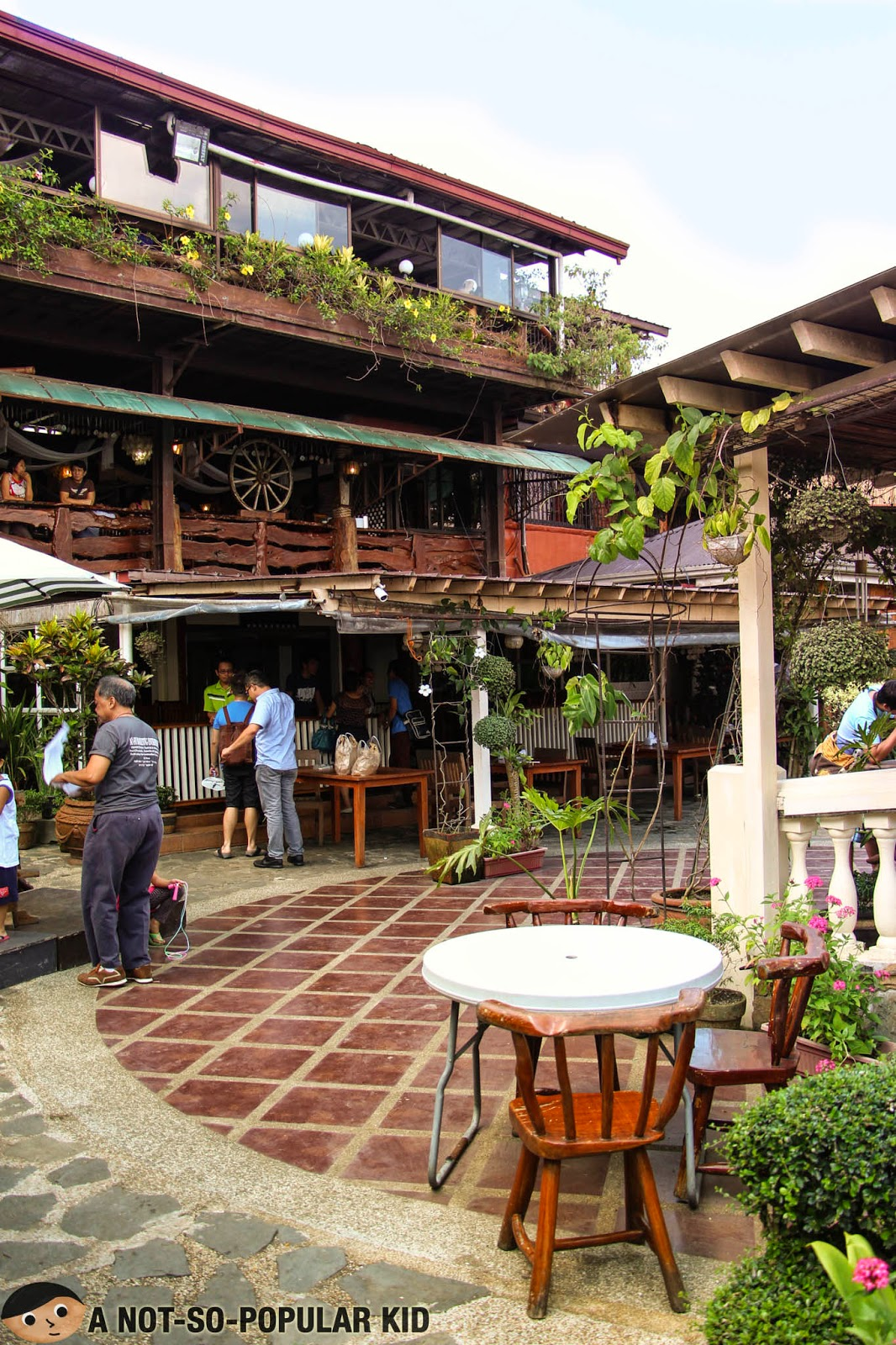 The semi-romantic place in Tagaytay called RSM Lutong Bahay