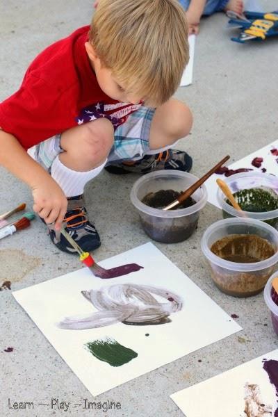 Mud Paint Recipe Learn Play Imagine