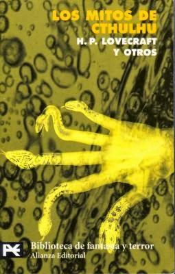 Los mitos de Ctulhu, de H.P Lovecraft.