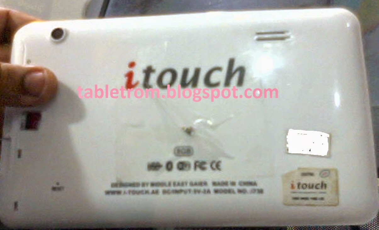 itouch tablet i704 firmware