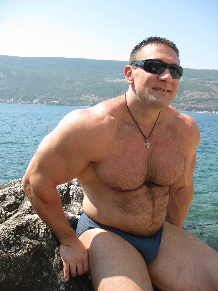 Muscle Lover Bogdan Kravchenko Hairy And Hot-1430