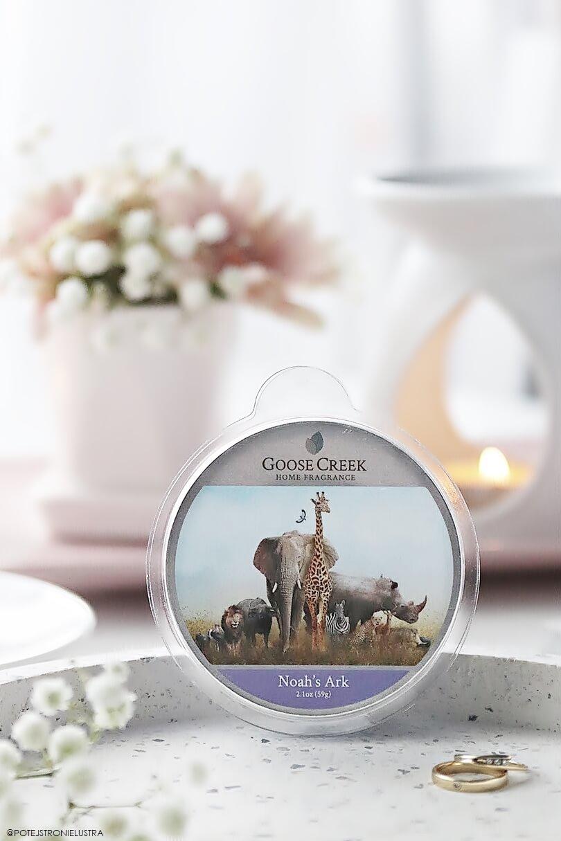 wosk zapachowy goose creek noah's ark nowość wiosna-lato 2019