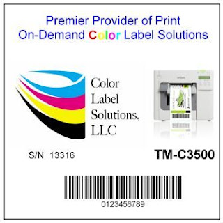 "4"" x 3"" Color Label Test Sample"