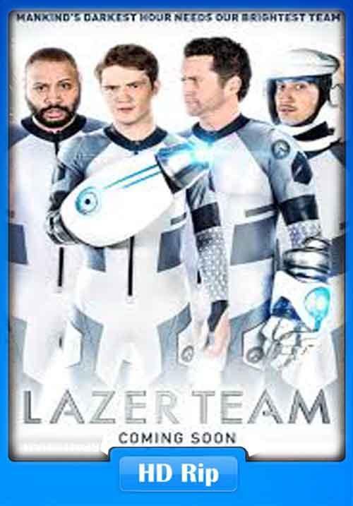 Lazer Team 2015 1080p WEB-DL 550MB x265 HEVC Poster