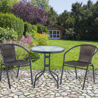Charming NEED THE BEST BISTRO PATIO TABLE SET? U003eu003e Our Small And Comfortable Outdoor  Glass Table U0026 Metal Chairs Is Ideal For Any Use To Enjoy A Coffee Or Team  With A ...