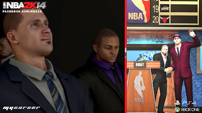 NBA 2K14 Next-Gen MyCareer Draft