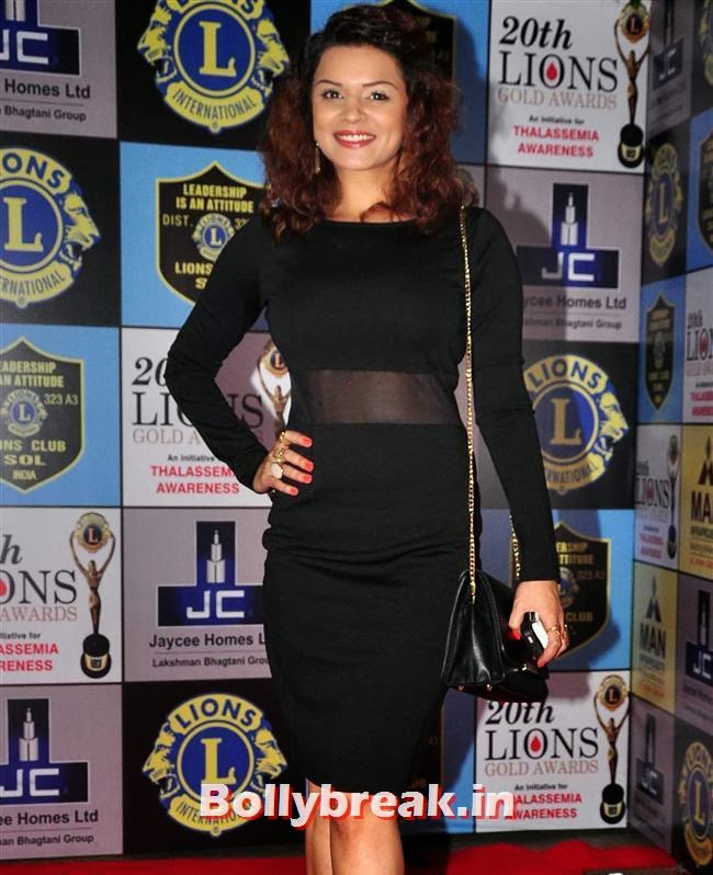 , Celebs at Lions Gold Awards 2014