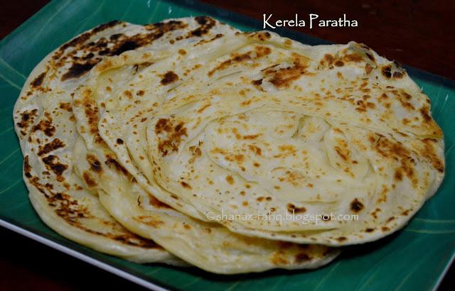 Kerala Paratha