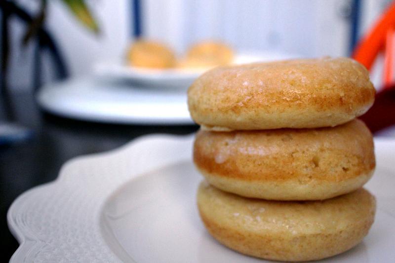 Vanilla Baked Doughnuts by freshfromthe.com
