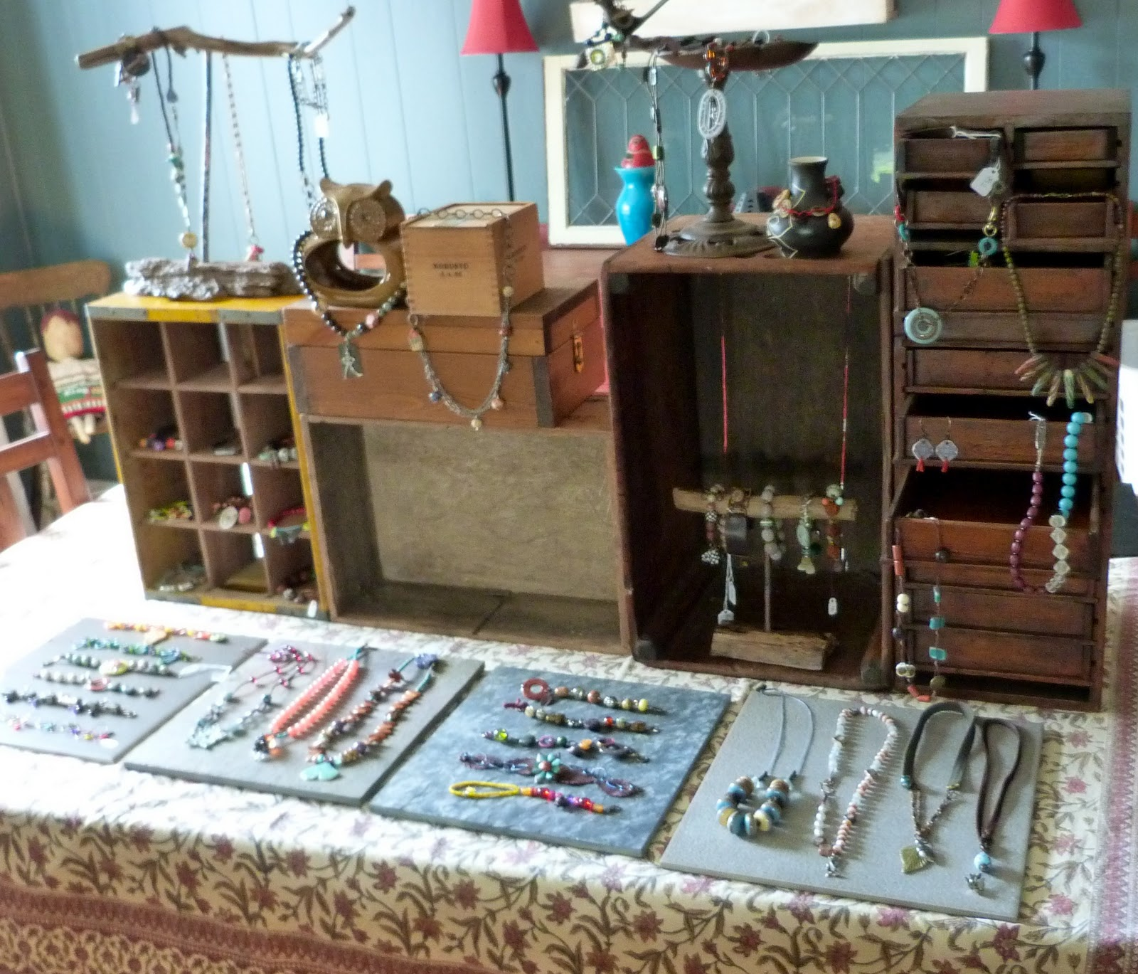 Necklace Displays For Craft Shows