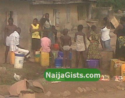 water scarcity eruwa oyo state