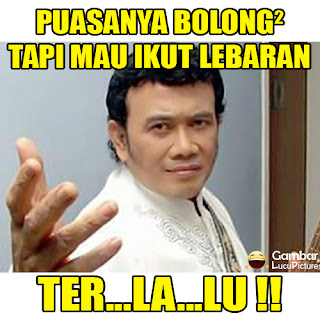 Meme Lucu Lebaran