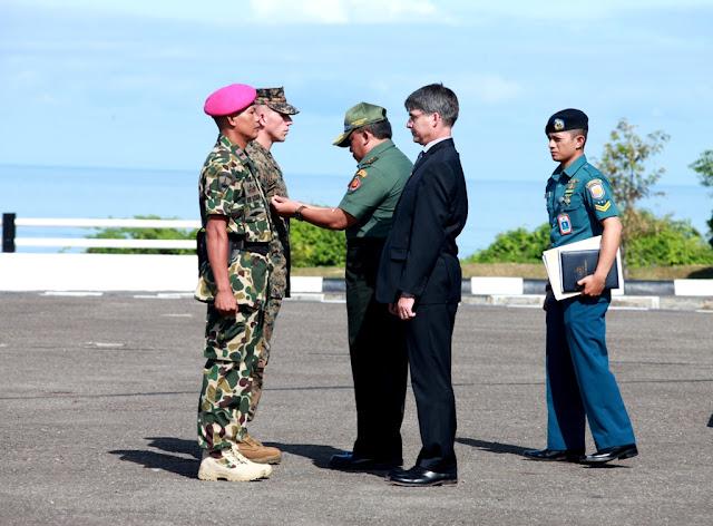 Asops Panglima TNI Buka Latihan Bersama Pacific Partnership 2016 di Padang