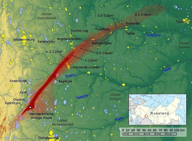 Tragedi Khystym, Bencana Nuklir Terparah yang Dirahasiakan dari Dunia