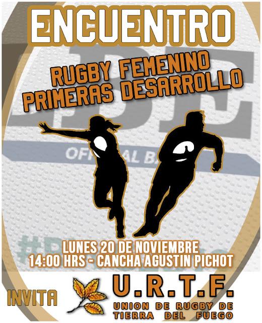 Encuentro de Rugby Femenino y Primeras Desarrollo